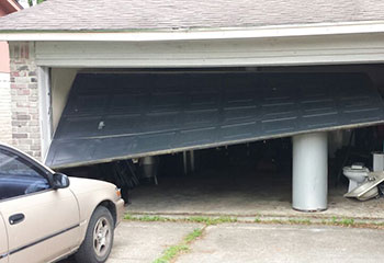 Garage Door Off Track Project | Garage Door Repair Powder Springs, GA